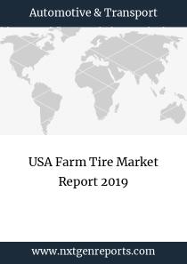 USA Farm Tire Market Report 2019