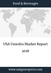 USA Umeshu Market Report 2018