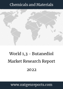 World 1,3 - Butanediol Market Research Report 2022