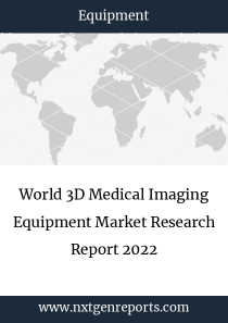 World 3D Medical Imaging Equipment Market Research Report 2022