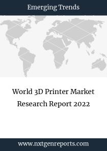 World 3D Printer Market Research Report 2022