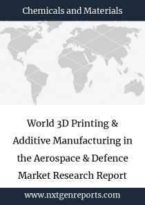 World 3D Printing & Additive Manufacturing in the Aerospace & Defence Market Research Report 2022