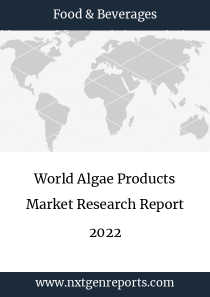 World Algae Products Market Research Report 2022