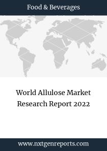 World Allulose Market Research Report 2022
