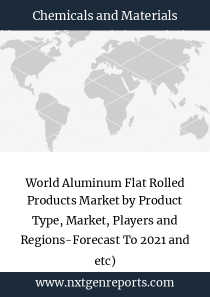 World Aluminum Flat Rolled Products Market by Product Type, Market, Players and Regions-Forecast To 2021 and etc)