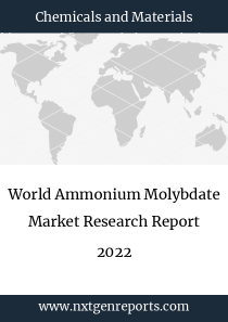 World Ammonium Molybdate Market Research Report 2022