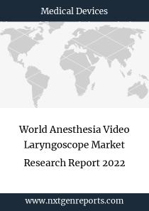 World Anesthesia Video Laryngoscope Market Research Report 2022