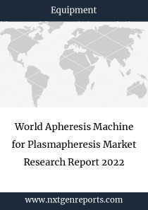 World Apheresis Machine for Plasmapheresis Market Research Report 2022