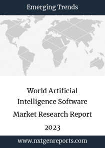 World Artificial Intelligence Software Market Research Report 2023