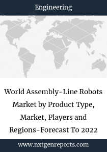 World Assembly-Line Robots Market by Product Type, Market, Players and Regions-Forecast To 2022