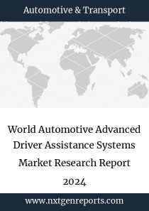 World Automotive Advanced Driver Assistance Systems Market Research Report 2024