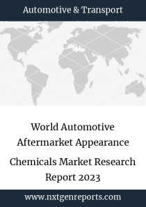 World Automotive Aftermarket Appearance Chemicals Market Research Report 2023