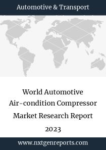 World Automotive Air-condition Compressor Market Research Report 2023