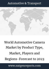 World Automotive Camera Market by Product Type, Market, Players and Regions-Forecast to 2023
