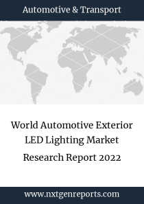 World Automotive Exterior LED Lighting Market Research Report 2022