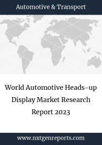 World Automotive Heads-up Display Market Research Report 2023