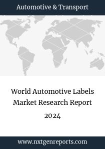 World Automotive Labels Market Research Report 2024