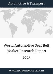 World Automotive Seat Belt Market Research Report 2023