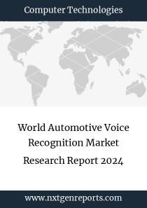 World Automotive Voice Recognition Market Research Report 2024