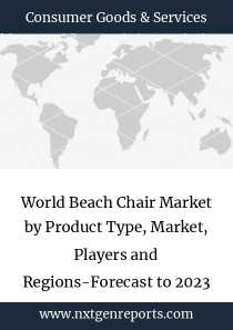 World Beach Chair Market by Product Type, Market, Players and Regions-Forecast to 2023