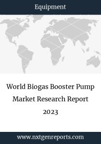 World Biogas Booster Pump Market Research Report 2023