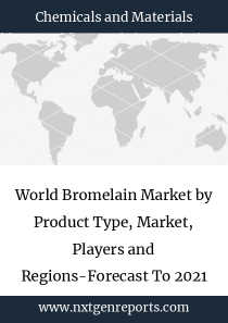 World Bromelain Market by Product Type, Market, Players and Regions-Forecast To 2021