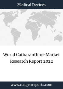 World Catharanthine Market Research Report 2022