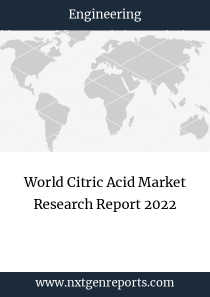World Citric Acid Market Research Report 2022