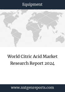 World Citric Acid Market Research Report 2024