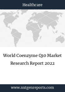 World Coenzyme Q10 Market Research Report 2022