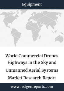 World Commercial Drones Highways in the Sky and Unmanned Aerial Systems Market Research Report 2023