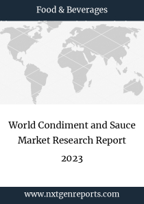 World Condiment and Sauce Market Research Report 2023