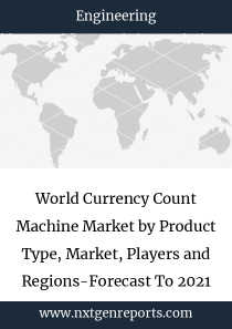 World Currency Count Machine Market by Product Type, Market, Players and Regions-Forecast To 2021