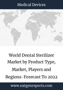 World Dental Sterilizer Market by Product Type, Market, Players and Regions-Forecast To 2022