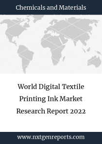 World Digital Textile Printing Ink Market Research Report 2022