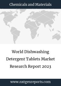 World Dishwashing Detergent Tablets Market Research Report 2023