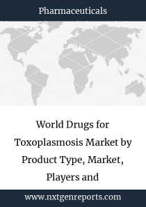 World Drugs for Toxoplasmosis Market by Product Type, Market, Players and Regions-Forecast To 2024