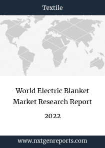World Electric Blanket Market Research Report 2022