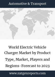 World Electric Vehicle Charger Market by Product Type, Market, Players and Regions-Forecast to 2023