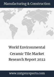 World Environmental Ceramic Tile Market Research Report 2022