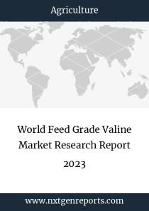 World Feed Grade Valine Market Research Report 2023