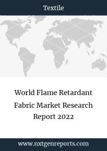 World Flame Retardant Fabric Market Research Report 2022