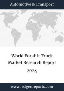 World Forklift Truck Market Research Report 2024