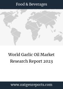World Garlic Oil Market Research Report 2023