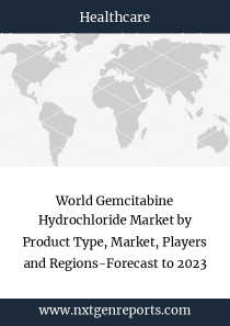 World Gemcitabine Hydrochloride Market by Product Type, Market, Players and Regions-Forecast to 2023