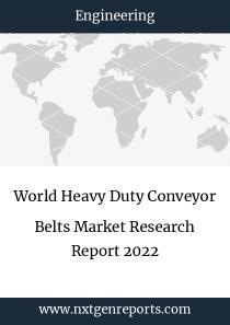 World Heavy Duty Conveyor Belts Market Research Report 2022