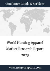 World Hunting Apparel Market Research Report 2023