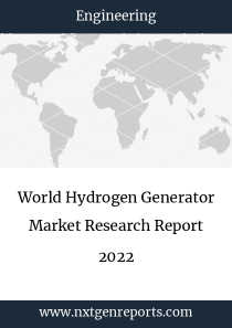 World Hydrogen Generator Market Research Report 2022