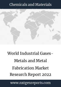 World Industrial Gases- Metals and Metal Fabrication Market Research Report 2022