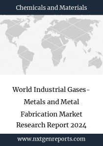 World Industrial Gases- Metals and Metal Fabrication Market Research Report 2024